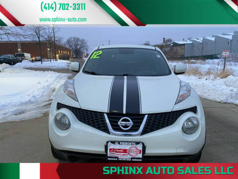 2012 Nissan JUKE for sale at Sphinx Auto Sales LLC in Milwaukee WI