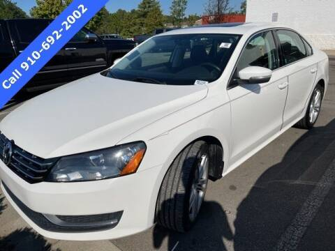 2015 Volkswagen Passat for sale at PHIL SMITH AUTOMOTIVE GROUP - SOUTHERN PINES GM in Southern Pines NC