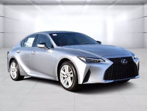 2021 Lexus IS 300 for sale at BOB ROHRMAN FORT WAYNE TOYOTA in Fort Wayne IN