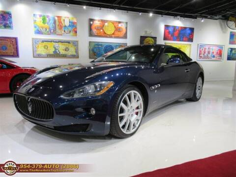 2011 Maserati GranTurismo for sale at The New Auto Toy Store in Fort Lauderdale FL