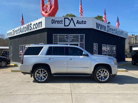2015 Cadillac Escalade for sale at Direct Auto in D'Iberville MS