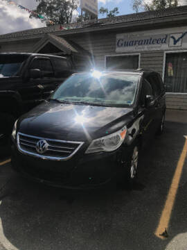 2013 Volkswagen Routan for sale at P & M AUTO in Springfield VT
