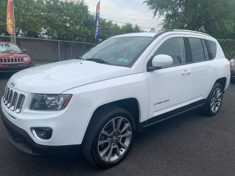 2014 Jeep Compass for sale at TD MOTOR LEASING LLC in Staten Island NY