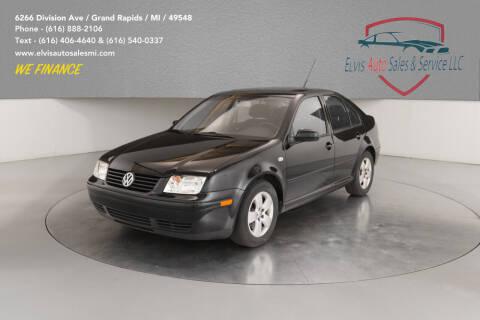 2003 Volkswagen Jetta for sale at Elvis Auto Sales LLC in Grand Rapids MI