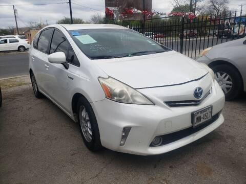 2012 Toyota Prius v for sale at C.J. AUTO SALES llc. in San Antonio TX
