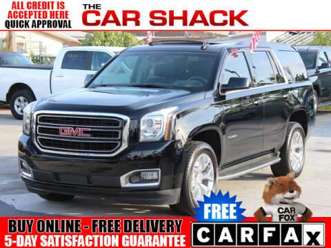 2017 GMC Yukon for sale at The Car Shack in Hialeah FL