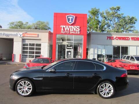 2017 Jaguar XF for sale at Twins Auto Sales Inc in Detroit MI