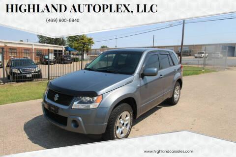 2008 Suzuki Grand Vitara for sale at Highland Autoplex, LLC in Dallas TX
