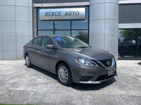 2016 Nissan Sentra for sale at Berge Auto in Orem UT