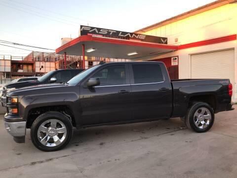 2015 Chevrolet Silverado 1500 for sale at FAST LANE AUTO SALES in San Antonio TX