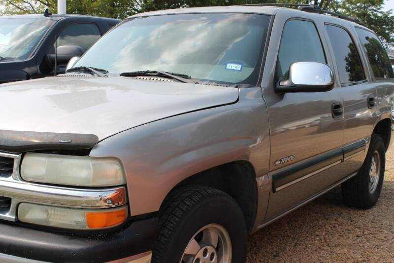 2001 Chevrolet Tahoe for sale at Abc Quality Used Cars in Canton TX