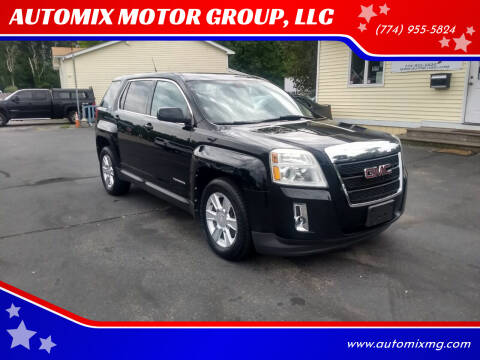 2011 GMC Terrain for sale at AUTOMIX MOTOR GROUP, LLC in Swansea MA