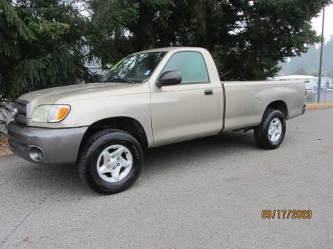 2004 Toyota Tundra for sale at B & C Northwest Auto Sales in Olympia WA