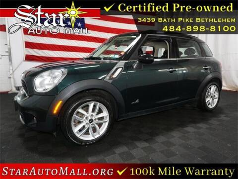 2014 MINI Countryman for sale at STAR AUTO MALL 512 in Bethlehem PA