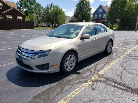 2010 Ford Fusion for sale at USA AUTO WHOLESALE LLC in Cleveland OH