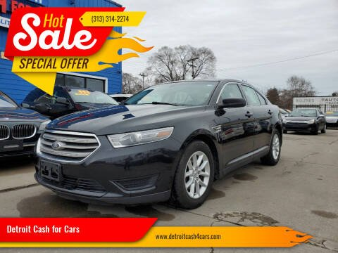 2013 Ford Taurus for sale at Detroit Cash for Cars in Warren MI