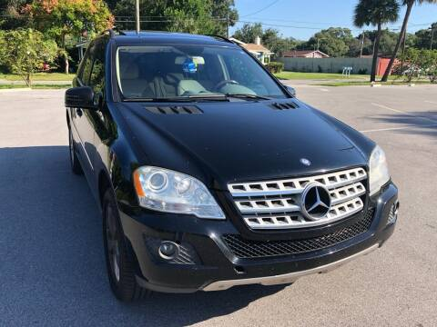 2011 Mercedes-Benz M-Class for sale at Consumer Auto Credit in Tampa FL