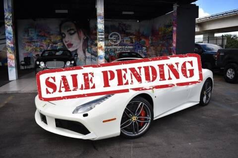 2017 Ferrari 488 Spider for sale at STS Automotive - Miami, FL in Miami FL