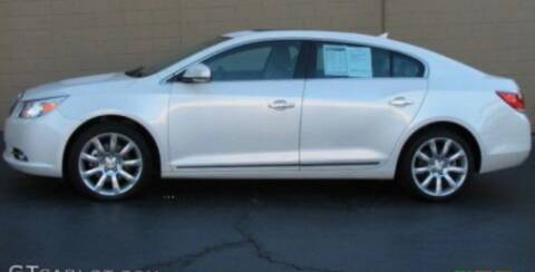 2011 Buick LaCrosse for sale at CANDOR INC in Toms River NJ
