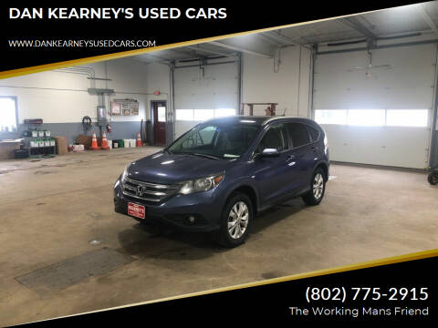 2013 Honda CR-V for sale at DAN KEARNEY'S USED CARS in Center Rutland VT