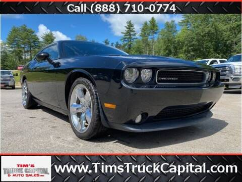 2013 Dodge Challenger for sale at TTC AUTO OUTLET/TIM'S TRUCK CAPITAL & AUTO SALES INC ANNEX in Epsom NH