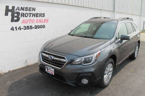 2019 Subaru Outback for sale at HANSEN BROTHERS AUTO SALES in Milwaukee WI