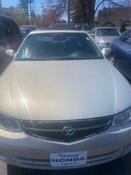 2000 Toyota Camry Solara for sale at Whiting Motors in Plainville CT
