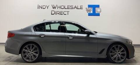 2017 BMW 5 Series for sale at Indy Wholesale Direct in Carmel IN