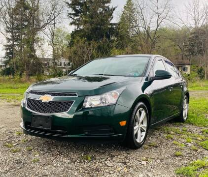 2014 Chevrolet Cruze for sale at Best For Less Auto Sales & Service LLC in Dunbar PA