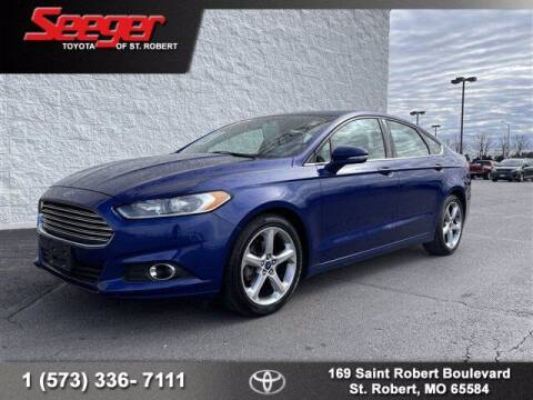 2015 Ford Fusion for sale at SEEGER TOYOTA OF ST ROBERT in St Robert MO