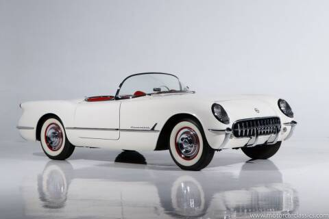1954 Chevrolet Corvette for sale at Motorcar Classics in Farmingdale NY