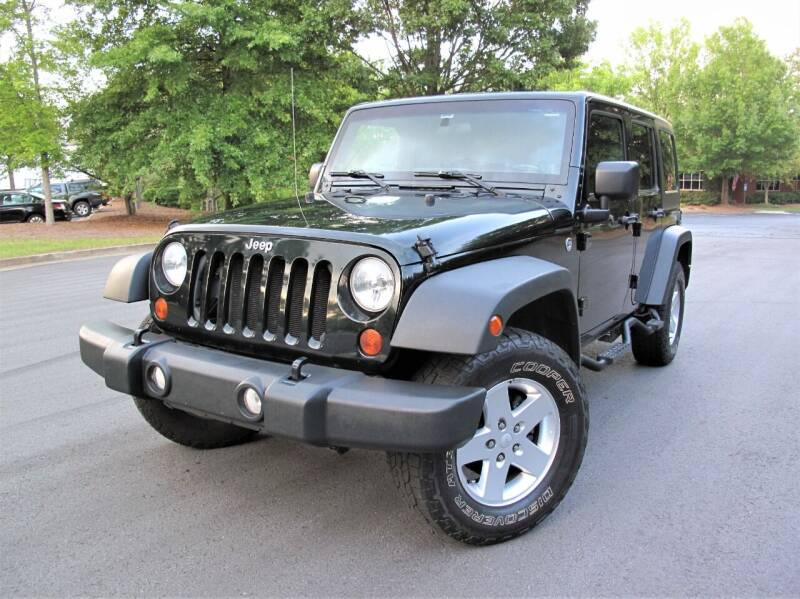 2012 Jeep Wrangler Unlimited for sale at Top Rider Motorsports in Marietta GA