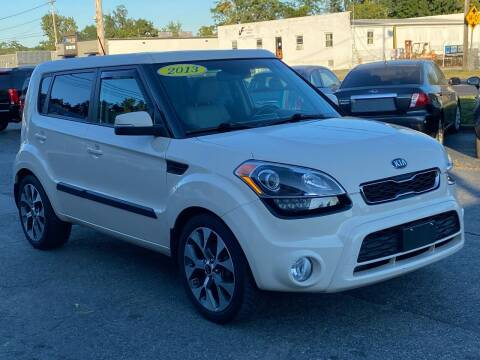 2013 Kia Soul for sale at MetroWest Auto Sales in Worcester MA