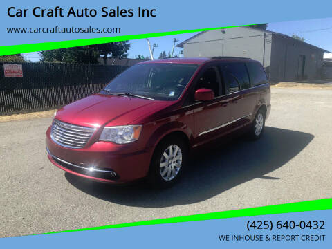 2013 Chrysler Town and Country for sale at Car Craft Auto Sales Inc in Lynnwood WA