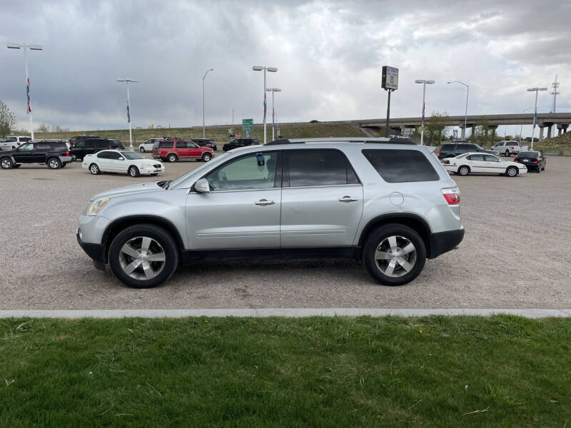 2011 GMC Acadia for sale at GILES & JOHNSON AUTOMART in Idaho Falls ID
