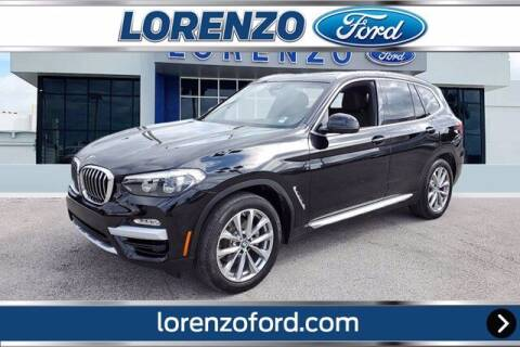 2019 BMW X3 for sale at Lorenzo Ford in Homestead FL