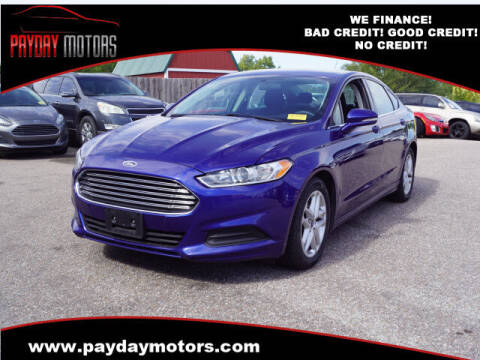 2016 Ford Fusion for sale at Payday Motors in Wichita KS