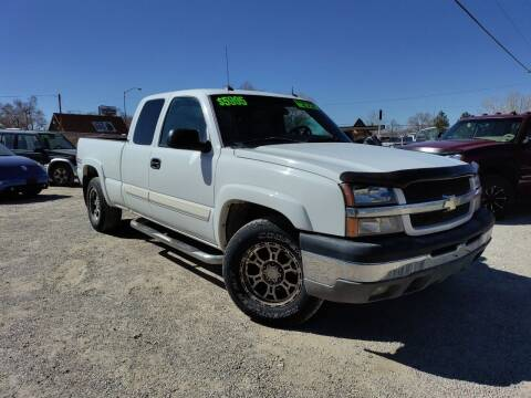 2003 Chevrolet Silverado 1500 for sale at Canyon View Auto Sales in Cedar City UT
