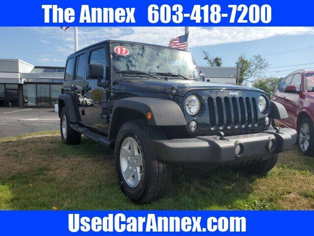 Used Jeep Wrangler Unlimited For Sale In New Hampshire Carsforsale Com