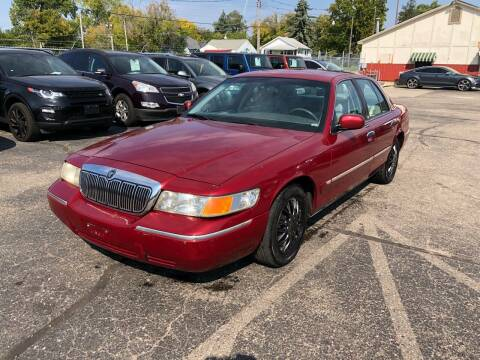 2000 Mercury Grand Marquis for sale at Dean's Auto Sales in Flint MI