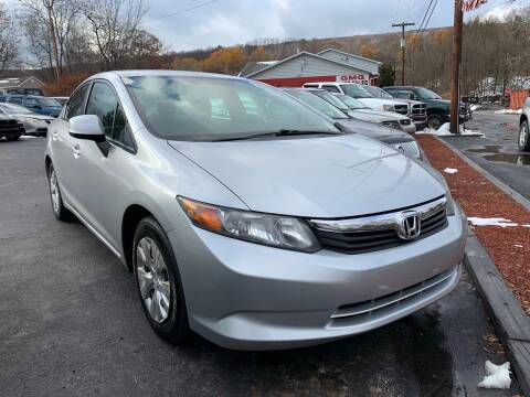 2012 Honda Civic for sale at GMG AUTO SALES in Scranton PA