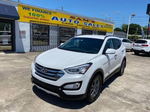 2016 Hyundai Santa Fe Sport for sale at Sam's Auto Sales in Houston TX