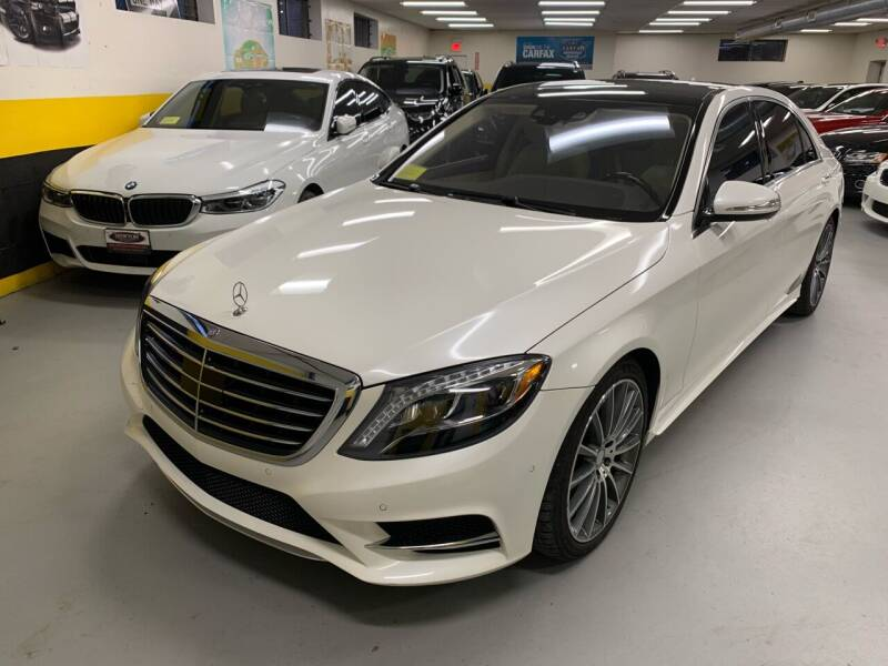 2014 Mercedes-Benz S-Class for sale at Newton Automotive and Sales in Newton MA