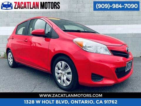 2012 Toyota Yaris for sale at Ontario Auto Square in Ontario CA