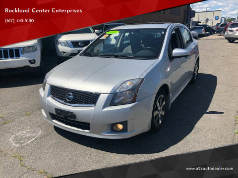 2012 Nissan Sentra for sale at Rockland Center Enterprises in Roxbury MA