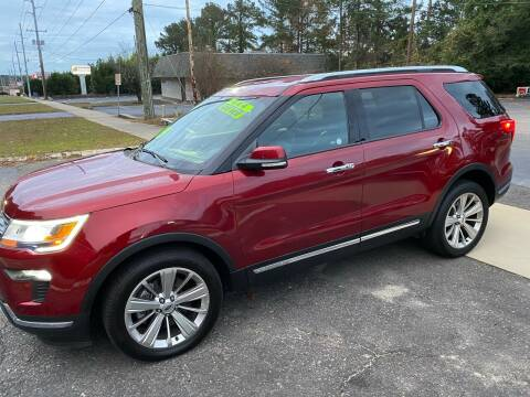 2019 Ford Explorer for sale at TOP OF THE LINE AUTO SALES in Fayetteville NC