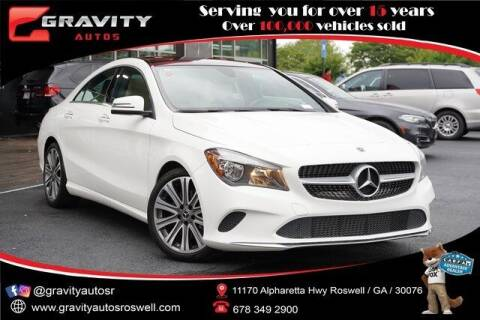 2019 Mercedes-Benz CLA for sale at Gravity Autos Roswell in Roswell GA