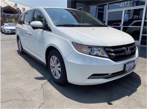 2014 Honda Odyssey for sale at Carros Usados Fresno in Fresno CA