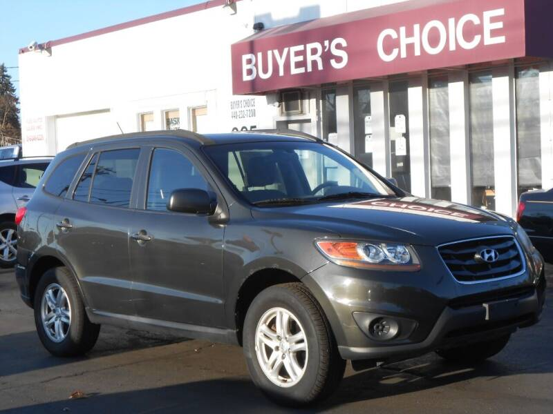 2010 Hyundai Santa Fe for sale at Buyers Choice Auto Sales in Bedford OH