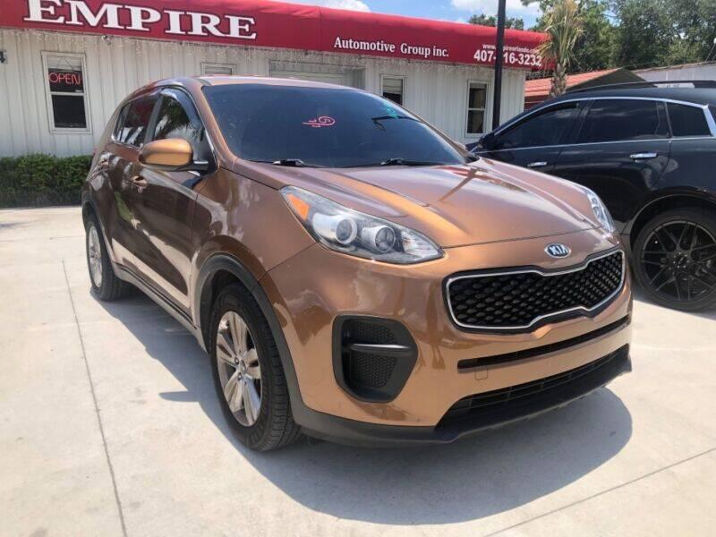 2017 Kia Sportage for sale at Empire Automotive Group Inc. in Orlando FL